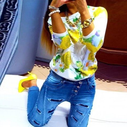 Fashion+Women's+Floral+Print+Coat+Jackets+Long+Sleeve+Tops+Outfits  Condition:+100%+Brand+New+and+High+Quality  Material:Cotton+Blend  Color:+Yellow/Red/Blue  Size:+Asian+S/M/L/XL  Sleeve+Type:+Long+Sleeve Style:Fashion+Women's+Floral+Sweatshirt  Season:+Spring,+Summer,+Fall/Autumn,+...