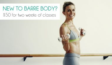 Barre Body is a gorgeous fusion of vinyasa yoga, Pilates and ballet barre conditioning, designed to work your entire body, sculpting longer, leaner muscles.