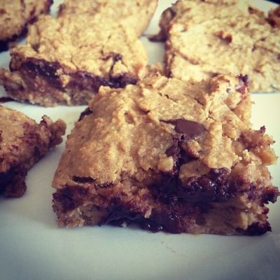 Ripped Recipes - Healthy Chickpea Blondies - Healthy Chickpea Blondies