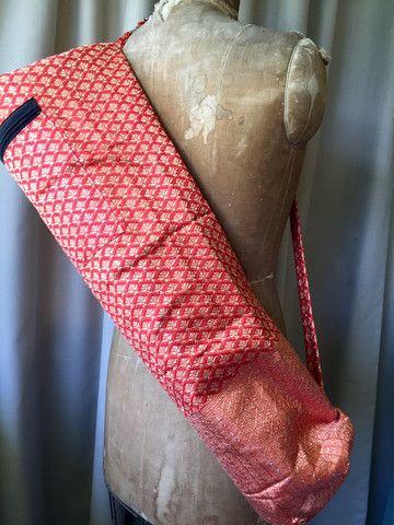 Silk Sari Yoga Bag : Orange Shop Now NZ$25.00 Summer House NZ