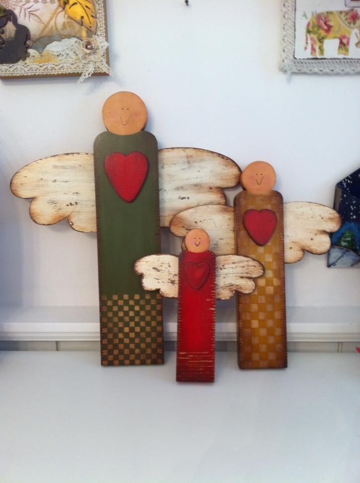 best 25 primitive wood crafts ideas on pinterest. Black Bedroom Furniture Sets. Home Design Ideas