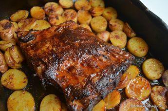 cum se face friptura cu bere miere mustar la cuptor (4)