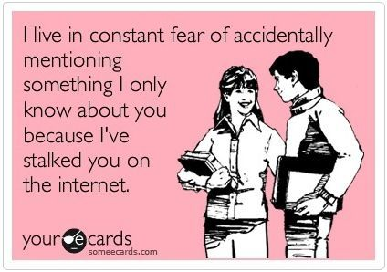 I live in constant fear...