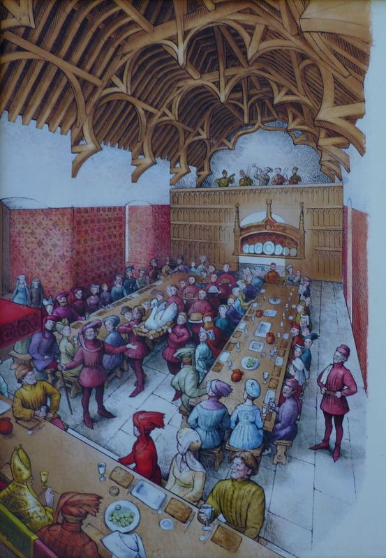 1000 Images About Medieval Halls On Pinterest