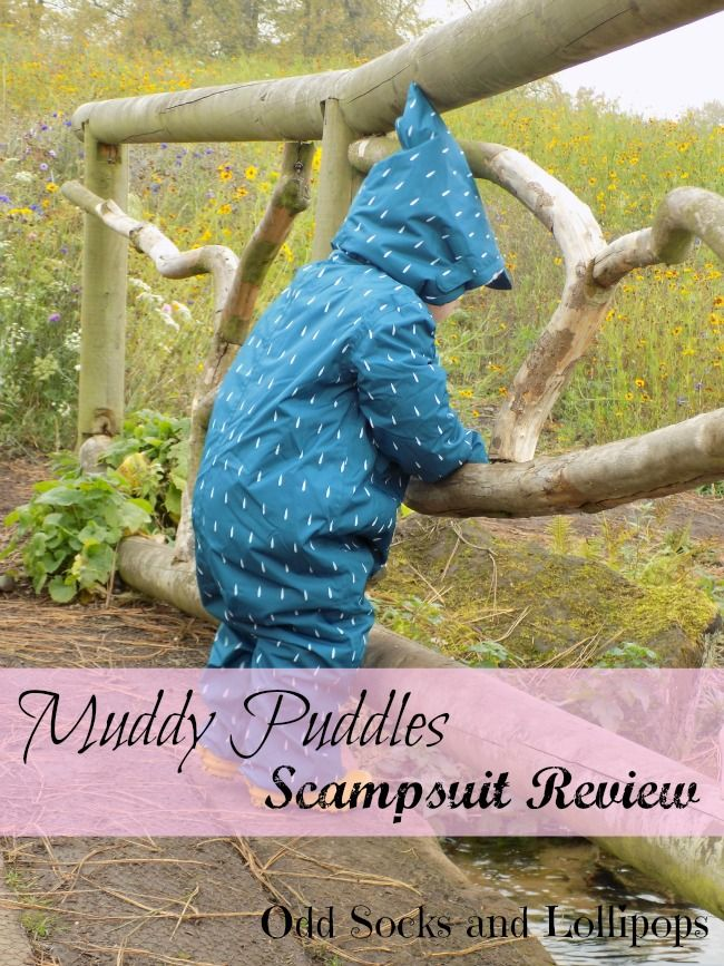 Muddle Puddles Scampsuit Review - Sharing our thoughts on the Scampsuit from Muddy Puddles