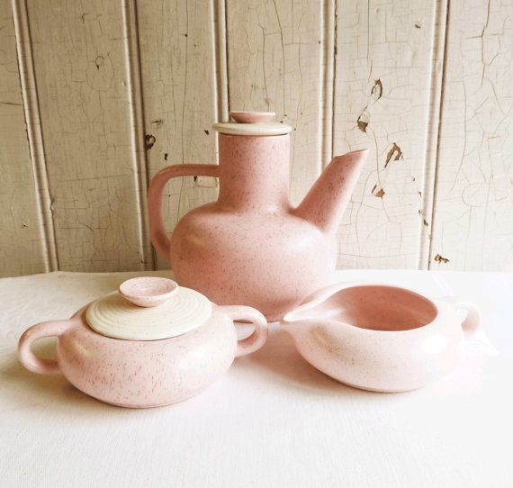 French Ceramic Sugar Bowl 1950s Folk Pottery Country Cottage: 147 Best Images About Art Of The Speckle: Fun Mid-Century