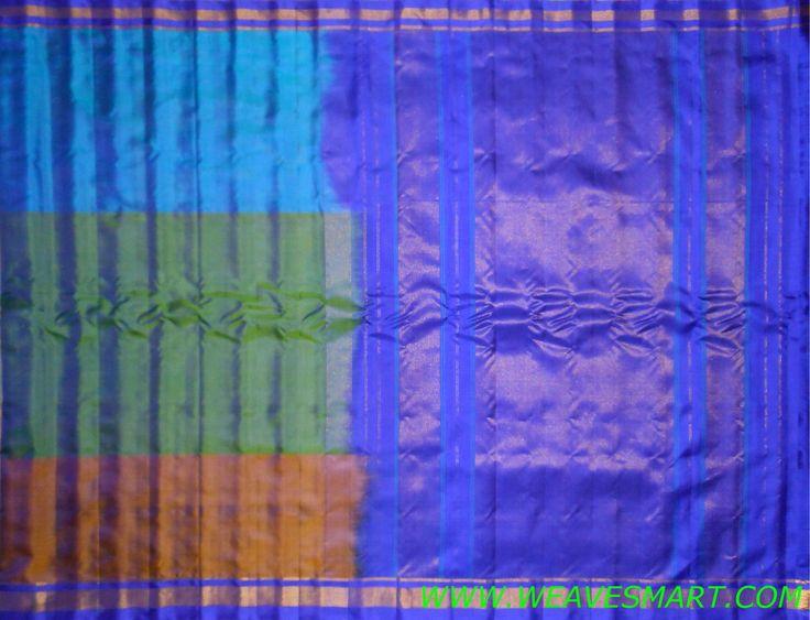 Gadwal Silk Saree - GDW00229