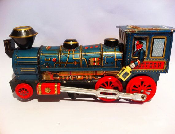 Old Toy Trains : Best collectibles vintage toy trains images on