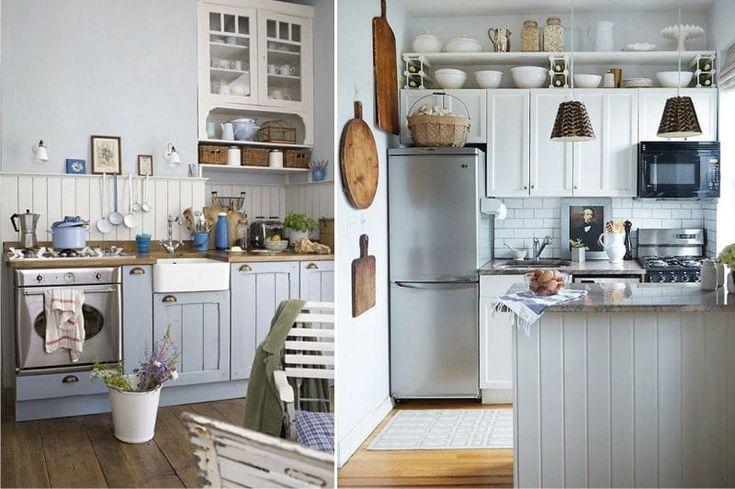 Декор кухни в деревенском стиле