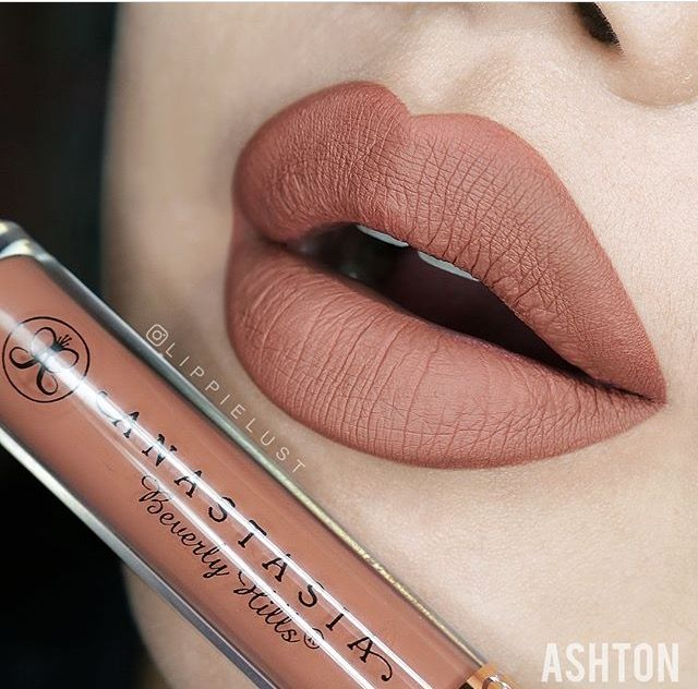 Anastasia Beverly Hills liquid lipstick in 'Ashton'