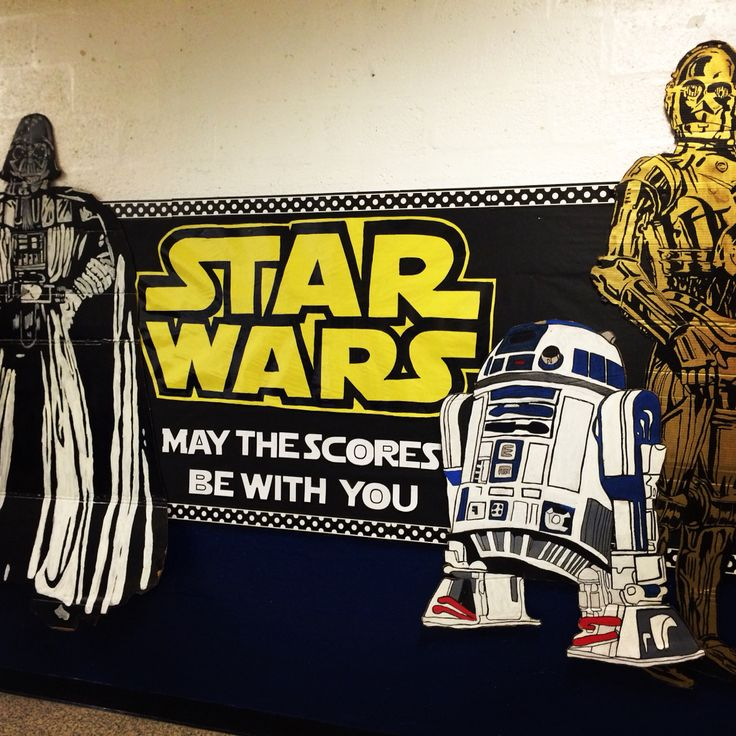"""Star Wars Bulletin Board. """"May the Scores Be With You"""" TCAP testing Bulletin Board"""