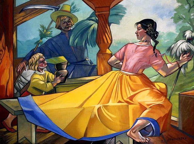 Zofia Stryjeńska (née Lubańska à Cracovie en 1891, décédée à Genève en 1976), surnommée « princesse de la peinture polonaise », reste l'une des figures marquantes de la peinture polonaise du xxe siècle.