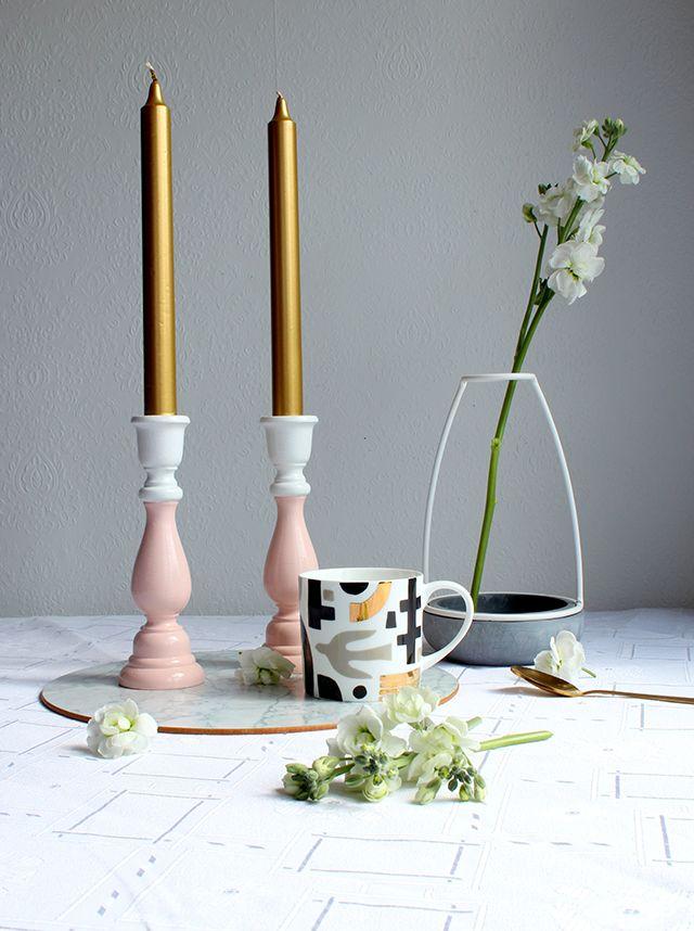 Duo-colour candlesticks