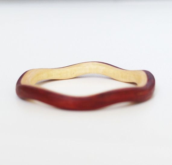 Womens Ring Bentwood Ring Wooden Ring Wood Ring by UncladGrain