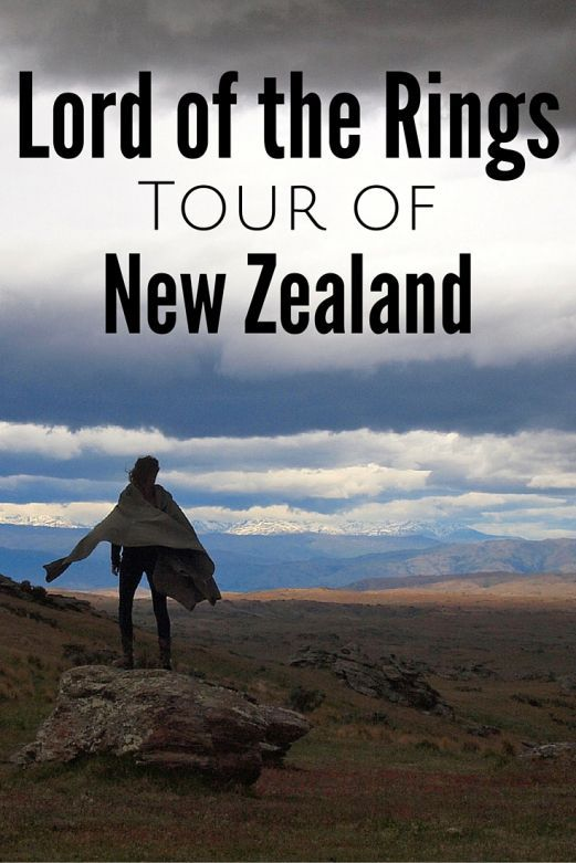 Lord of the Rings tour of New Zealand