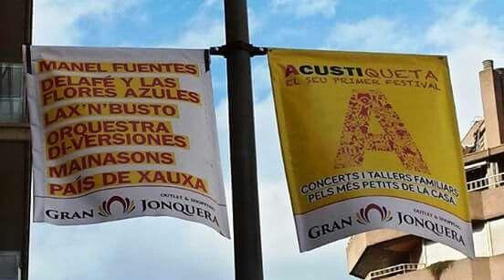 PAÍS DE XAUXA. ACUSTIQUETA 2015. Divendres 28 Agost 18:00 h Pl Josep Pla. Us hi esperem a tots! GIRONA EN EL CEL. Ctra Barcelona, davant Abacus  #paisdexauxa #Acustiqueta #nomesalacustica #figueres #visitfigueres #girona #visitgirona