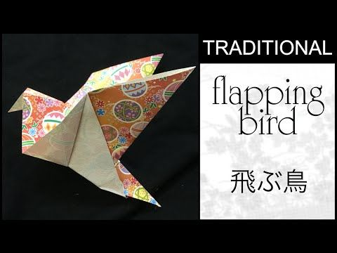 origami crane instructions youtube