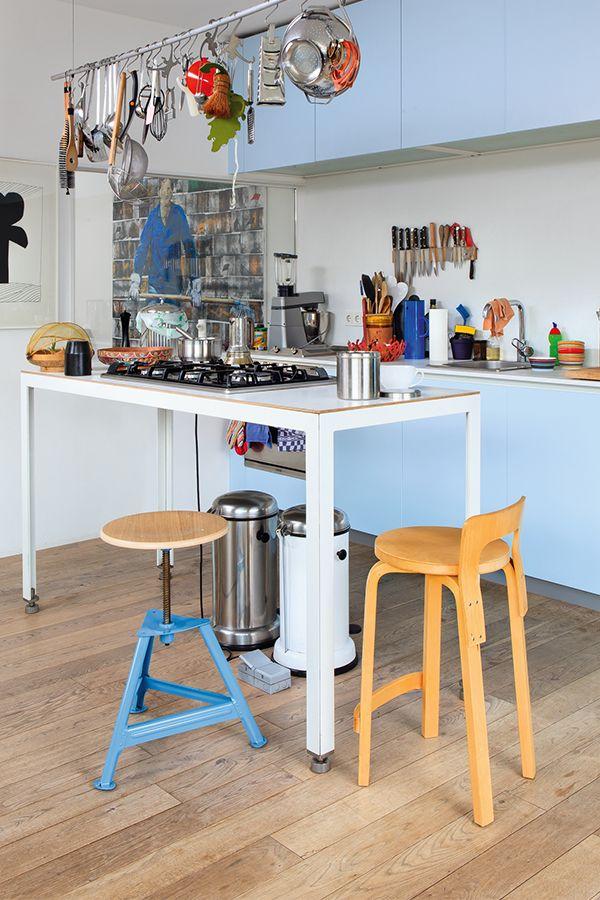 Hocker Chemnitz Hohenverstellbar Pastellblau Ral 5024 In 2020 Hocker Hocker Hohenverstellbar Und Pastellblau