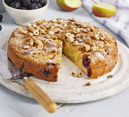 Blackberry and Apple Cake BBC Good Food  Very yummy! Either as a cake or a pud with icecream