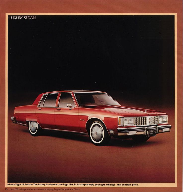 1993 Oldsmobile Cutlass Cruiser Camshaft: 1980 Oldsmobile 98 Luxury Sedan