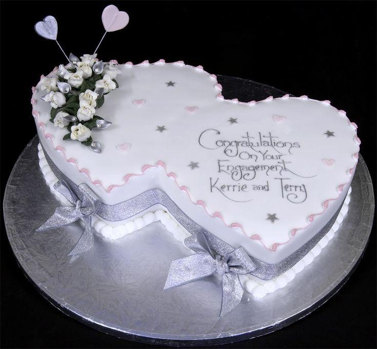Wedding Cake Ideas Pinterest: 13 Best Engagement Cake Ideas Images On Pinterest