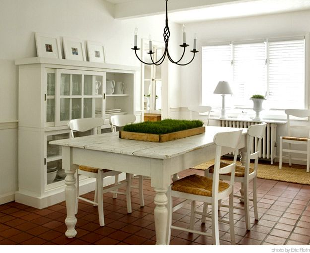 Reader request dining table centerpieces desire to