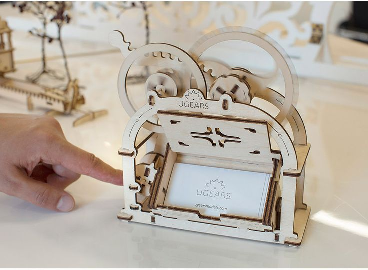 3D-пазл Ugears «Механическая шкатулка» Конструктор, 3D-конструктор, модель