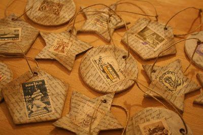 Kifli és levendula: Régimódi karácsonyfadíszek