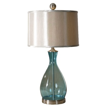 Meena table lamp at joss and main this beautiful piece showcases a transparent body of