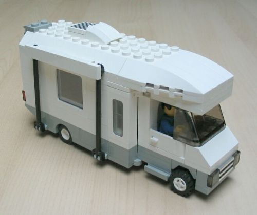 Camper: A LEGO® creation by Pierre Normandin : MOCpages.com