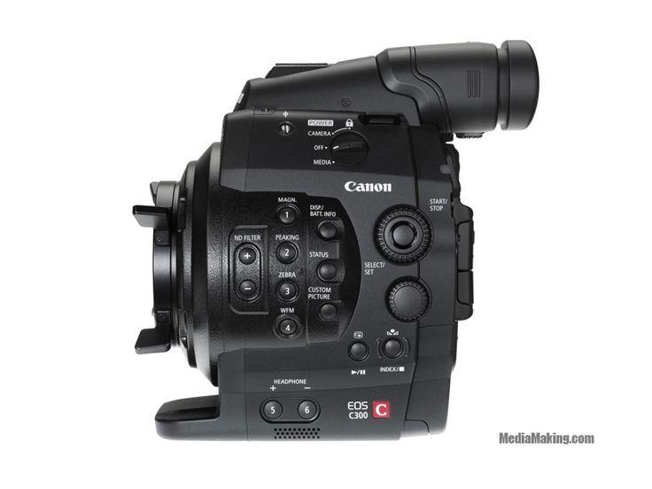 Canon EOS C300  Una sorprendente videocamera per il cinema: EOS C300 unisce la tecnologia video, gli obiettivi Canon e la creatività EOS.