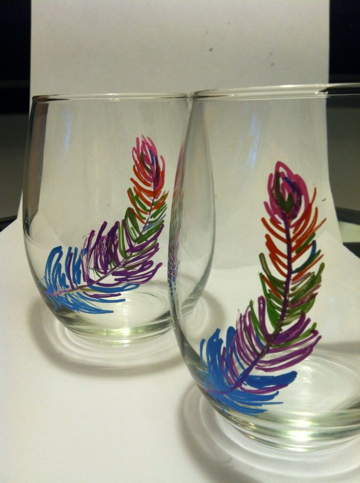 17 best diy gifts images on pinterest sharpie wine for How to decorate wine glasses with sharpies