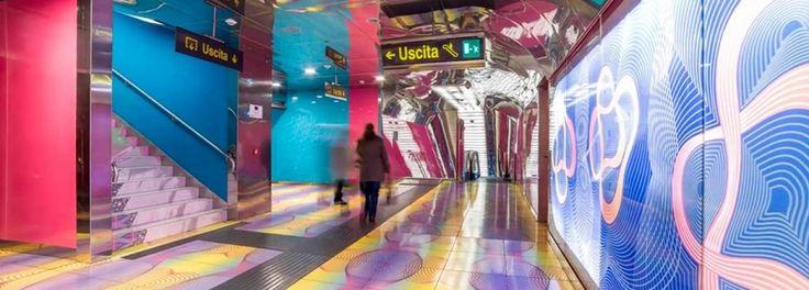 La metro di Napoli nella sua anima artistica piu' profonda -video
