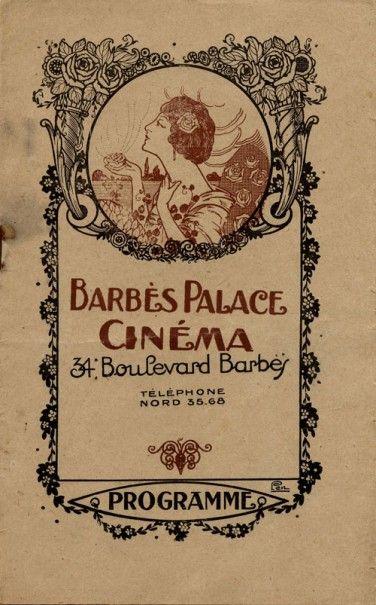 Programme Barbès Palace