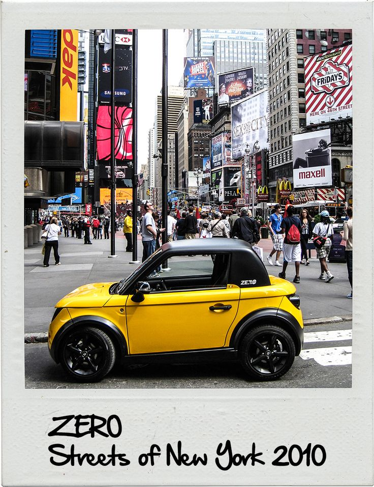 2010 - Streets of New York WWW.TAZZARI-ZERO.COM #TAZZARI #ZERO #EM1 #TAZZARIEV #ELECTRICCAR #ZEROEMISSION #DESIGN #LUXURY #ELEKTROAUTO #COCHEELECTRICO #VOITUREELECTRIQUE #CARROELETRICO #ELEKTRISCHEAUTO #ELEKTRIKLIARABA #ZZ #IMOLA #MADEINITALY