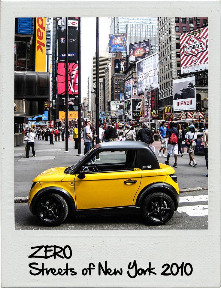 2010 - Streets of New York WWW.TAZZARI-ZERO.COM #TAZZARI #ZERO #EM1 #TAZZARIEV #ELECTRICCAR #ZEROEMISSION #DESIGN #LUXURY #ELEKTROAUTO #COCHEELECTRICO #VOITUREELECTRIQUE #CARROELETRICO #ELEKTRISCHEAUTO #ELEKTRIKLIARABA #ZZ #IMOLA #MADEINITALY