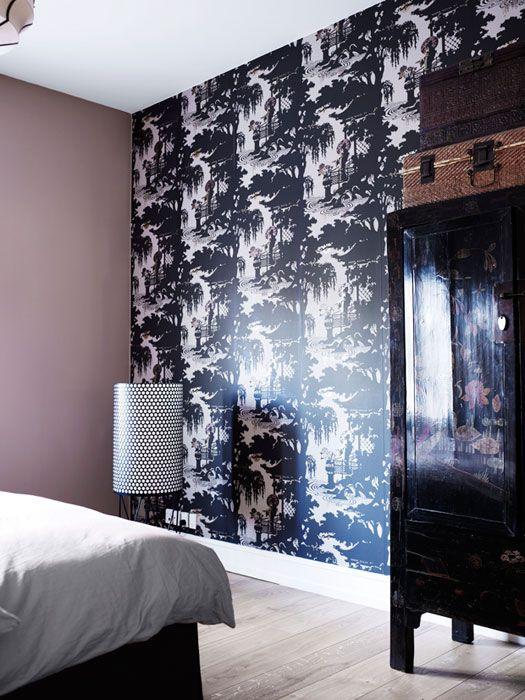 cole and son wallpaper geisha private home copenhagen
