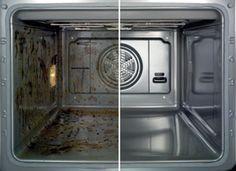 Oven gemakkelijk en grondig schoonmaken met Soda in 5 stappen. Ook hardnekkige aangekoekte vlekken maak je eenvoudig schoon. Bekijk de tip.