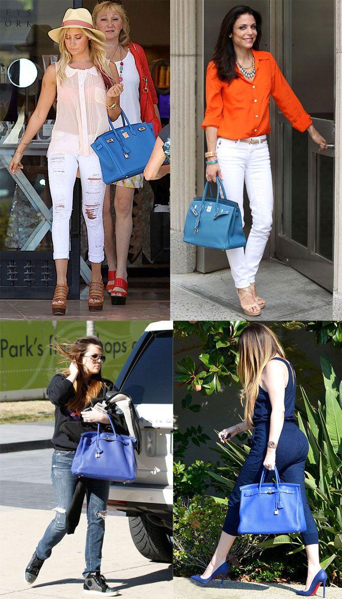 Popular-Celebrity-Hermes-Birkin-Bag-Blue.jpg 680��1,190 pixels ...