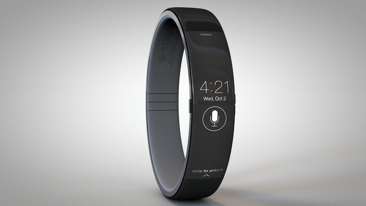 iWatch concept imagined in anticipation by Todd Hamilton • depicted: watch