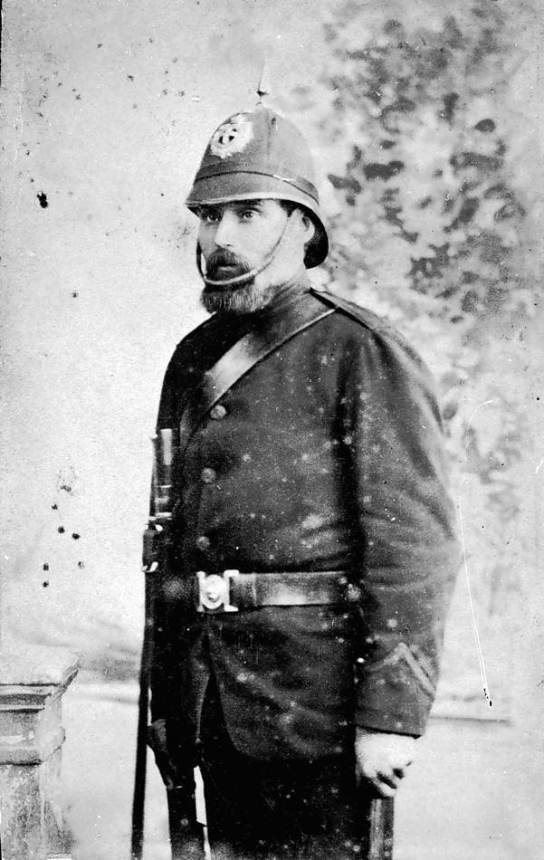 Police officer, Ballarat c. 1880