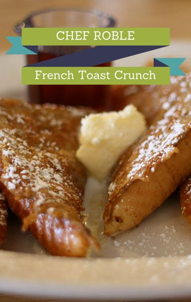 Chef Roble Ali joined Dr Oz to share his recipe for French Toast Crunch that is even a favorite of stars like Justin Timberlake. But before you go making this tomorrow morning, Roble suggested you make this a dessert instead. It's that good!