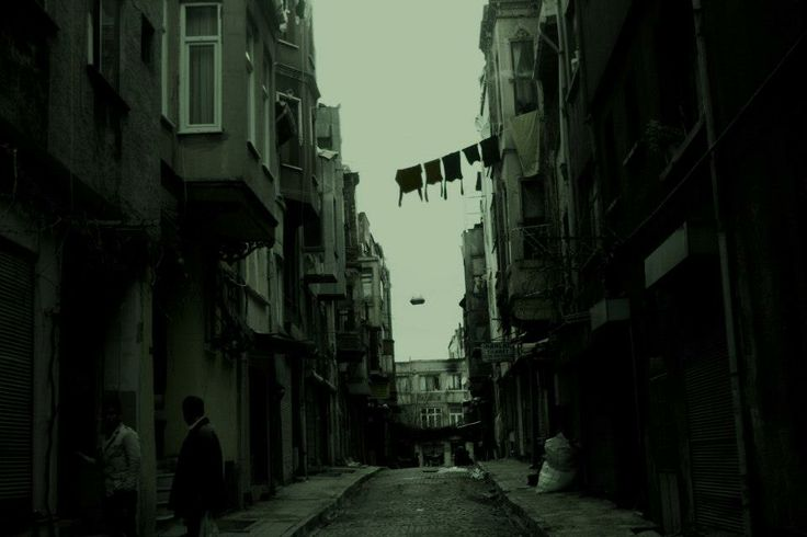 Clothes to dry, Istanbul.