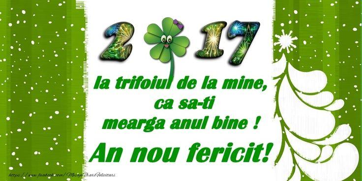 Felicitari de Anul Nou - 2017 La multi ani! - mesajeurarifelicitari.com