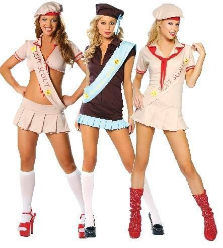 NEW Nwt ADULT Sexy ROMA Scout BROWNIE Girl RANGER Camper PARTY Halloween COSTUME