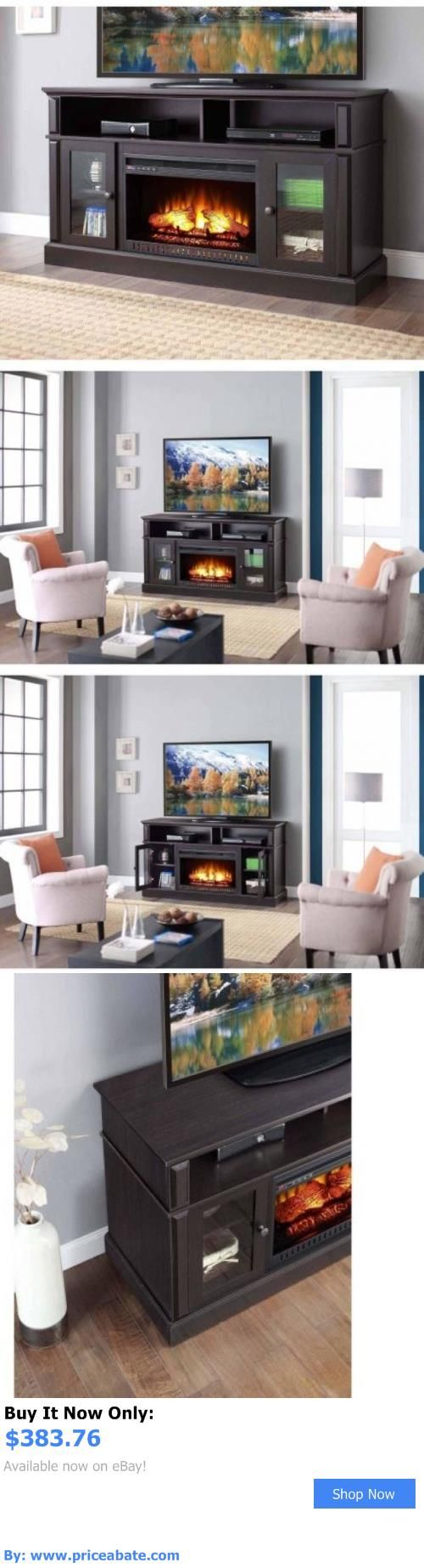 Fireplace tv stand electric fireplaces in arizona electric fireplace - Entertainment Units Tv Stands Electric Fireplace Tv Stand Heater Media Center Entertainment Console Wood Flame