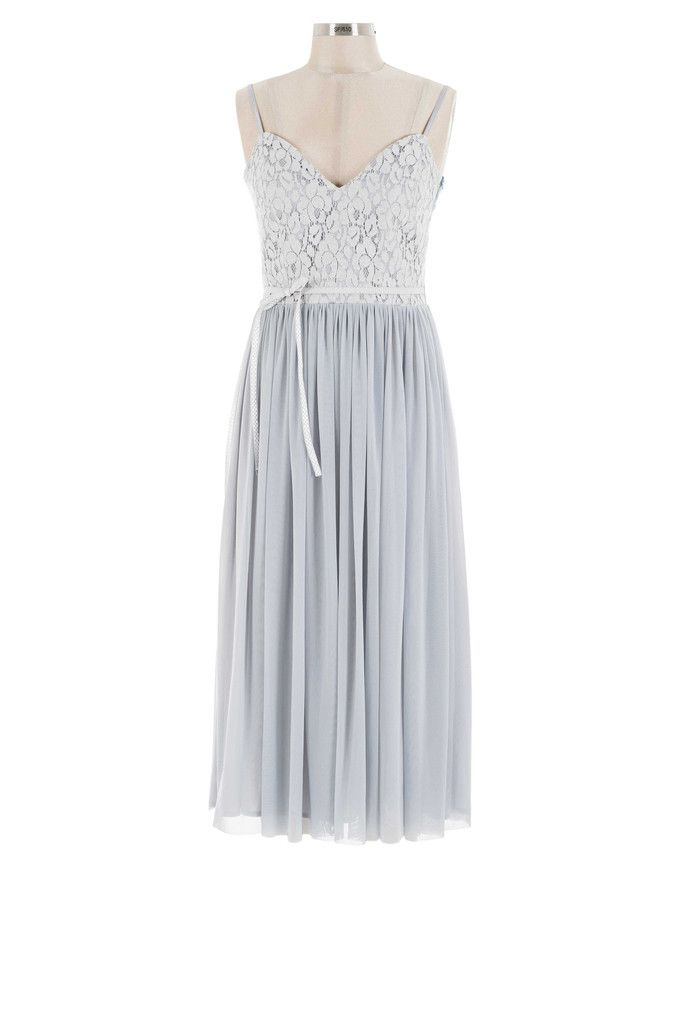 Darling Bud Dress - Grey