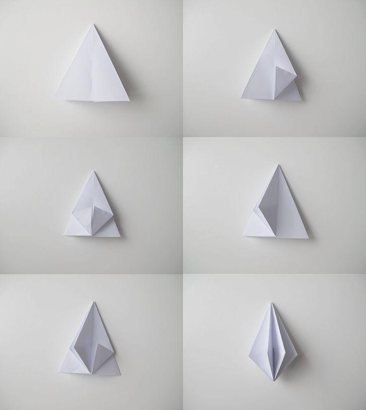 How to fold a diamond