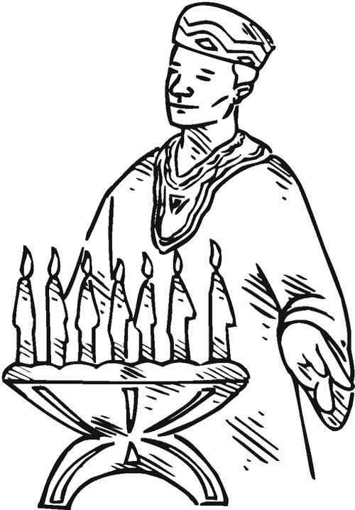 happy kwanzaa coloring pages - photo#23