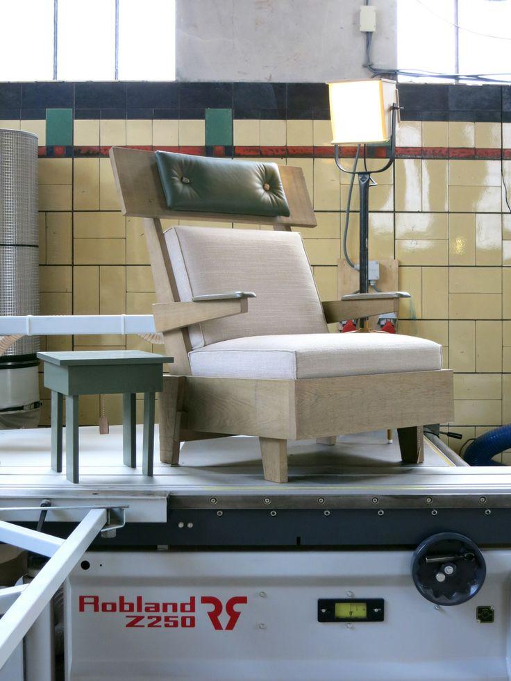 rest chair  |  TOM FRENCKEN  |  open workshop during DUTCH DESIGN WEEK 2013. Collections by Tom Frencken, JobsProps as well as their joint venture JOBTOM..
